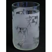 Trinkglas Kühe