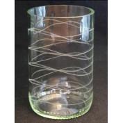 Trinkglas 3 dl verschiedene Muster