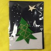 Weihnachtskarte Winterbaum