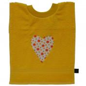 Kinderlätzli gelbes Herz